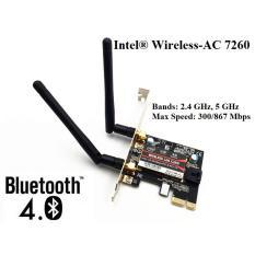 Card wifi Bluetooth INTEL AC 7260 7265 8260 8265 9260