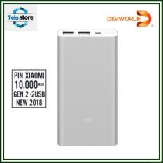 Pin sạc dự phòng Xiaomi 10.000mAh Gen 2S 2018 – Digiworld phân phối