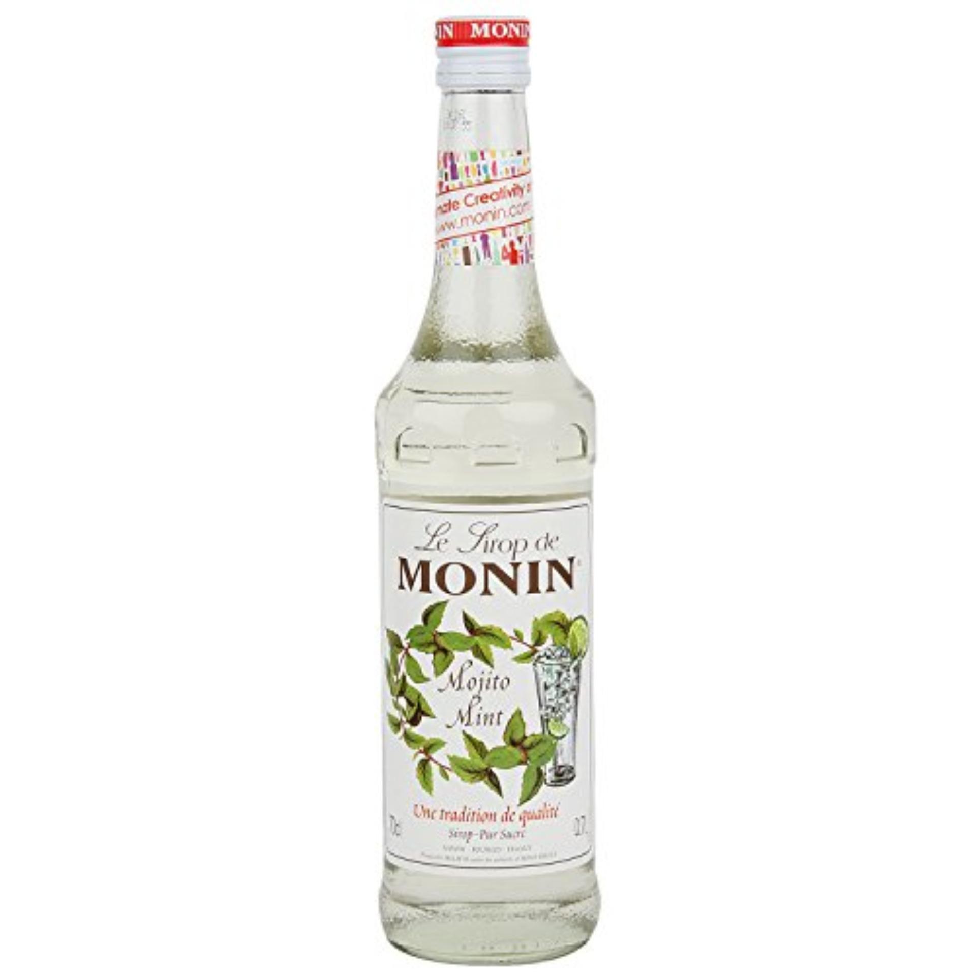 Syrup Monin Mojito (Chanh Bạc Hà) Chai 700ml