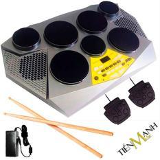 Bộ Trống điện tử Medeli DD309 – Hãng phân phối chính thức (Electronic Portable Digital Drum – Kèm Nguồn, Dùi Trống, Pedal)