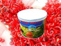 Combo 2 hộp thức ăn Sâu sấy khô Bloodworm cho cá thủy sinh
