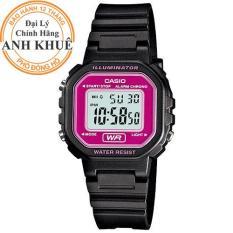 Đồng hồ nữ dây nhựa Casio Anh Khuê LA-20WH-4ADF