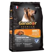 Thức ăn cho chó lớn vị thịt cừu – Thức ăn cho chó Ganador Adult