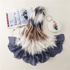 Khăn choàng lụa thời trang cao cấp HLS03 – size 90cm X 180cm
