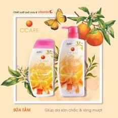 C'Care Sữa tắm Săn chắc da 200ml – Chiết xuất quýt Yuzu và Vitamin C