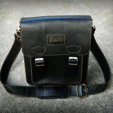 Túi xách đeo chéo da bò khâu tay – Kichi 1-ZC02DH