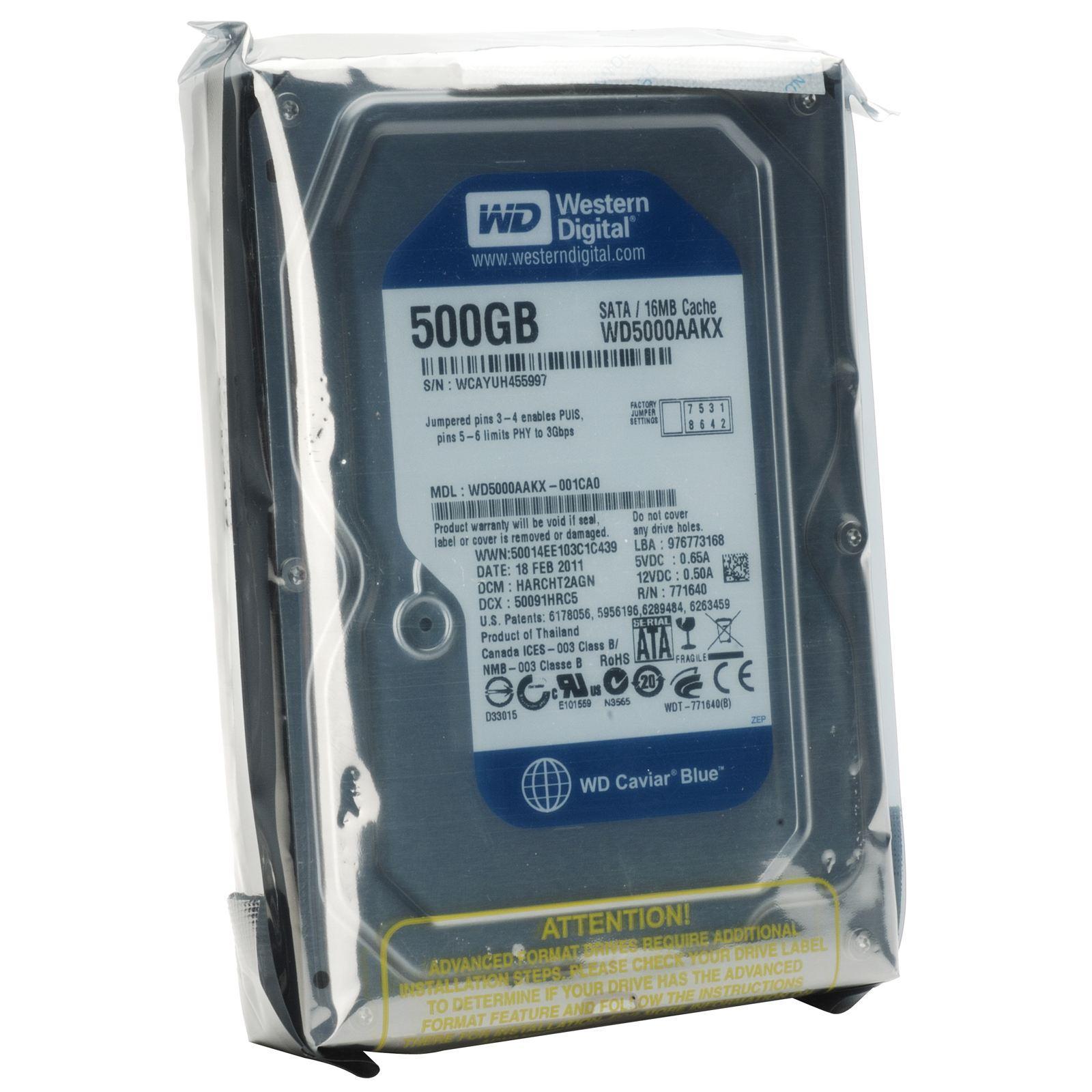 Giá Ổ cứng Western HDD WD Caviar Blue 500GB – Hàng Nhập Khẩu OC 024 Tại Bảo Ngọc Store