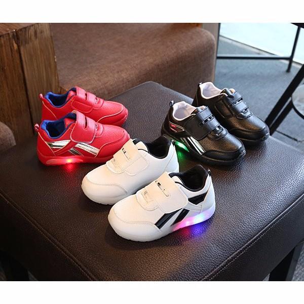 Giày Thể Thao Bé Trai Và Bé Gái POMA Có Đèn LED
