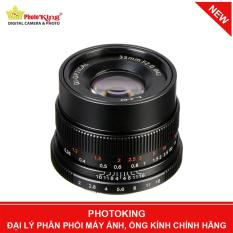 Ống kính 7artisans 35mm F/2 MF Lens (Fujifilm X mount)