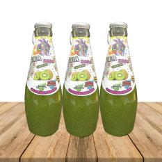Nước Ép Trái Cây Hạt Chia – Hương Kiwi (Combo 3 chai 390ml)