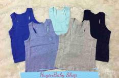 Set 2 áo ba lỗ thun cotton Nhiều Màu cao cấp Miatop cho bé trai, bé gái từ 4 – 11,3 kg