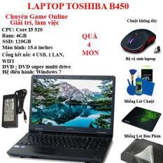 Laptop Toshiba chuyên game online, giải trí, làm việc