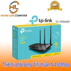 Router WiFi – Thiết bị phát WiFi TPLink TL-WR 940N chuẩn N 450Mbps FPT phân phối