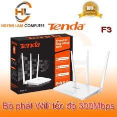 Bộ phát WiFi – Bộ phát WiFi Tenda F3 3 râu 300Mbps – Hãng phân phối