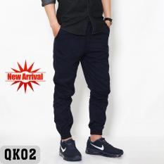 Quần Jogger nam kaki Hàn Quốc chất xịn màu tím than – QK04
