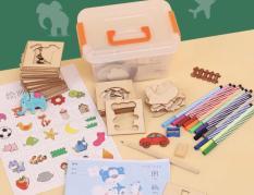 Bộ khung tập vẽ tranh sáng tạo cho trẻ