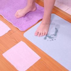 Thảm chùi chân siêu thấm Nhật Bản (Màu ngẫu nhiên) + Tặng bộ 10 đôi đũa tre đẹp