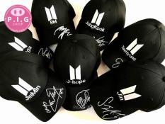 Nón kết BTS,Nón luỡi trai thần tượng BTS tên các thành viên RM,JinMin,SuGa,JungKook,TeaHyunh,Jin,J-Hop
