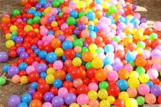 sét 200 quả bóng nhựa nhiều màu