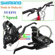 Bộ tay đề bấm xả 7 Speed Shimano ST-EF51