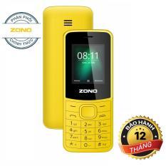 Điện thoại di động ZONO N8110 1.8 inch, 2 Sim – Vàng