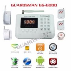 Thiết Bị Báo Động Chống Trộm Dùng SIM Thế Hệ Mới Guardsman GS-6000