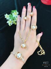 Bộ Trang Sức Nữ Xi Vàng 18K Gadoshop_VB4180615