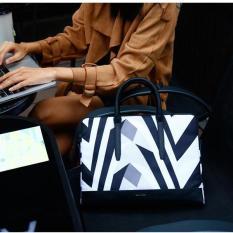 Túi laptop thời trang Cartinoe Prevalent 13inch phiên bản đen trắng