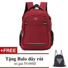 Balo laptop 14 inch HAMI 550 (màu đỏ)