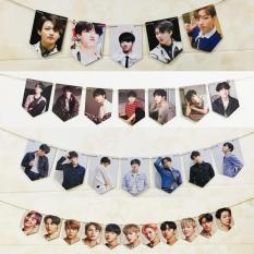 Ảnh treo tường BTS Love Yourself Tear, Wanna One 10x14cm (set 7 ảnh)