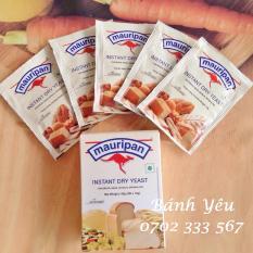 Men nở làm bánh mì-bánh pizza Mauripan – Hộp 5 gói 50g