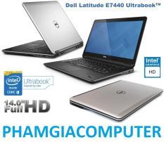 Laptop Dell Latitude E7440 Core i5 4300u Ram 4G SSD 128G HDD 250G 14in Ultrabook 1.7kg-Hàng nhập khẩu- Tặng Balo, chuột wireless