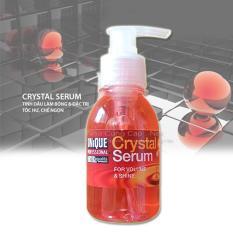 Tinh dầu dưỡng tóc Unitque Crystal Serum Hồng