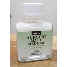 Dung môi làm mờ Acrylic-Acrylic matt medium của Phoenix, 75ml