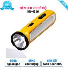 Đèn Pin LED xách tay đa năng 2 trong 1 KN-4316