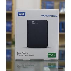 Ổ cứng di động WD Element 750GB + Bao da chống sốc WD
