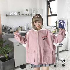 Áo khoác nữ dáng rộng kiểu dáng hiện đại thời trang M015 AL