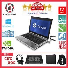 Laptop HP EliteBook 2560p Chạy CPU i5-2520M, 12.5inch, 8GB, SSD 120GB + Bộ Quà Tặng – Hàng Nhập Khẩu