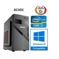Máy tính để bàn ACV01 core i7 / 4G / 500G phục vụ văn phòng ,học tập , chơi game , giải trí – Tăng bộ bàn phím chuột văn phòng , USB Wifi ,bàn di chuột