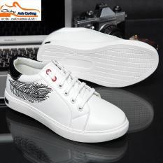Giày sneaker nam thể thao màu trắng
