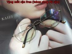 Gọng kính cận Tròng bằng kính TR90 ( Tặng tròng kính cận )