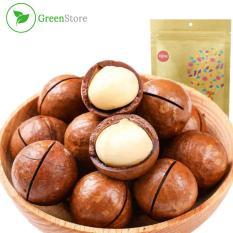 Hạt Macca (Macadamia) – Hạt dinh dưỡng – Túi 100g (Kèm dụng cụ tách vỏ)