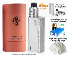 Bộ thuốc lá điện tử vape Tesla Terminator 90W Clone 1:1 (Bạc) Full Kit With Tank RDA chất lượng giá rẻ 2018 (No TD)
