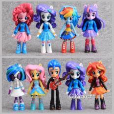 Bộ Mô Hình 09 Búp Bê My Littel Pony Equestria Girls – Cao 12cm