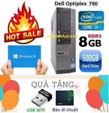 Máy tính đồng bộ Dell Optiplex 790 Core i3 2100 /8G / 500G – Tặng USB Wifi , Bàn di chuột , Bảo hành 24 tháng