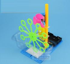 Bộ lắp ráp máy thổi bong bóng xà phòng bằng nhựa