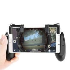 Bộ tay cầm kẹp điện thoại kèm nút chơi game Pubg, Liên Quân, Đột kích, Ros GKPGT01 cho điện thoại