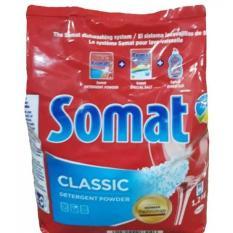 Bột Rửa Bát Somat 1,2kg,Bột Rửa Bát Chuyên Dùng Cho Máy Rửa Bát Hàng Nhập Khẩu