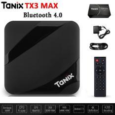 AndroidTivi Box Tx3 Max Ram 2G- Rom 16G tích hợp Bluetooth 4.0 bảo hành 12 tháng