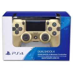 Tay cầm chơi game không dây PS4 Sony Dualshock 4 (Vàng)